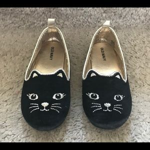Toddler girl cat shoes size 8